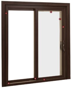 Aeris Sliding Glass Patio Doors Are Available In Custom Sizes Up To 8u0027  Wide, And Two , Three  Or Four Panel Configurations. Many Options For  Interior Wood ...