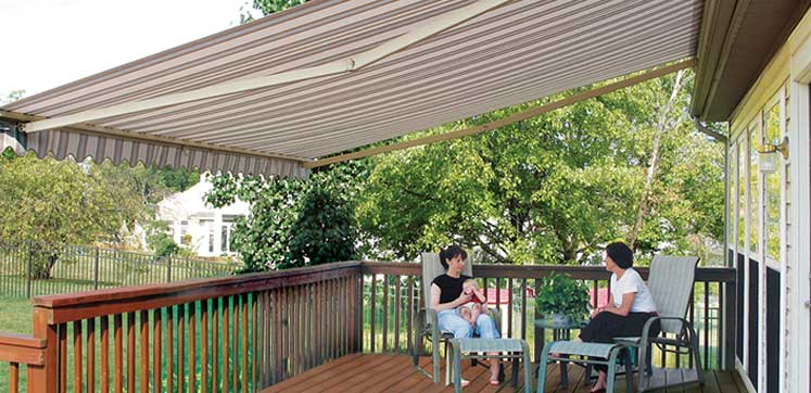 & Falls Glass Patio Awnings