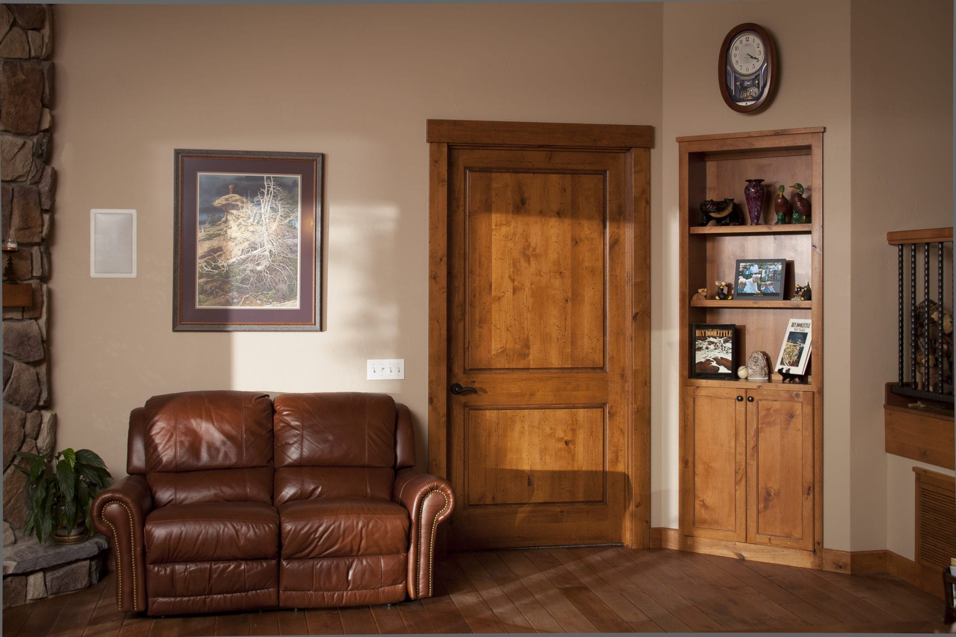 Interior Doors. Traditional Setting. WAUDENA MILLWORK